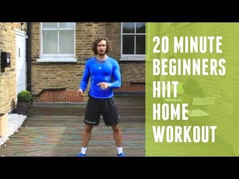 This beginner's workout involves short bursts of hard work, followed by periods of rest