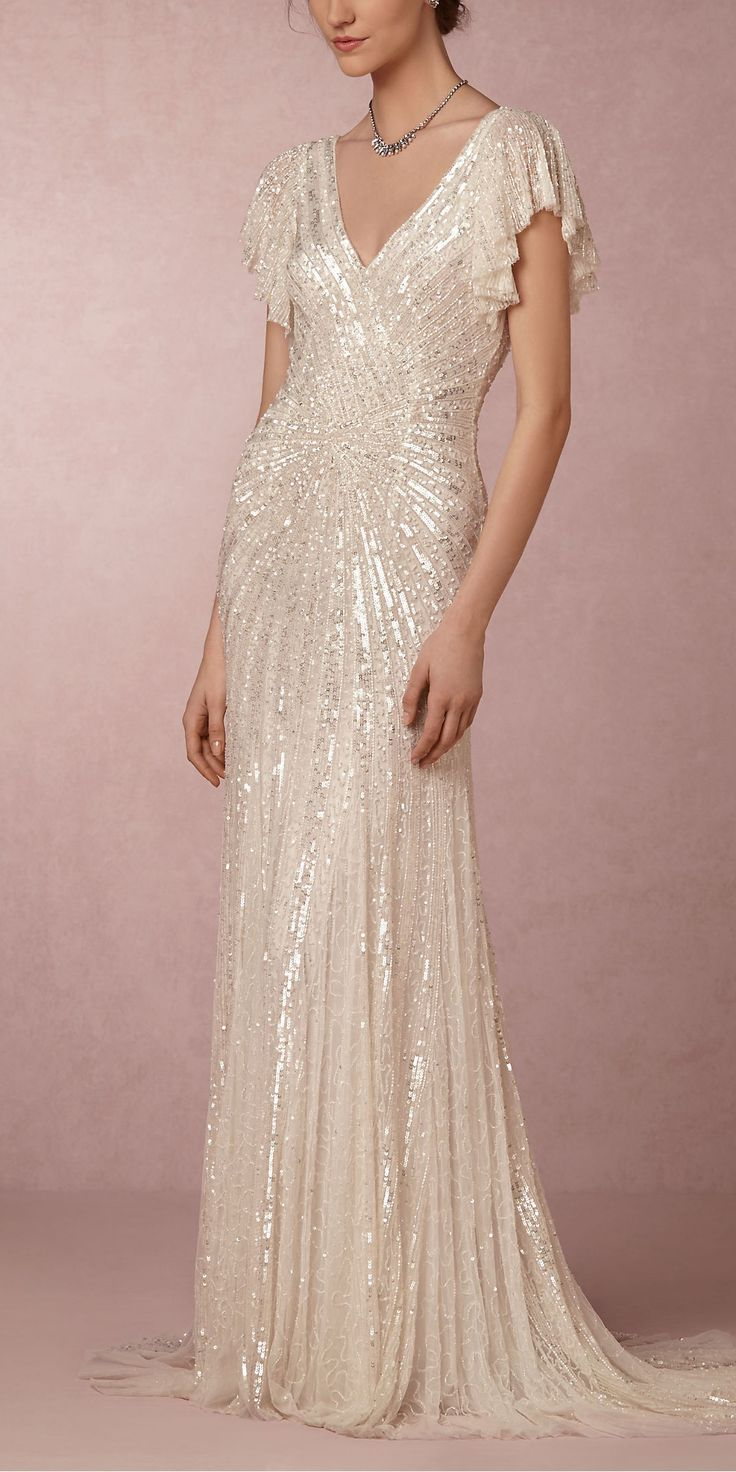 The Wedding Dress Guide for Every Kind of Bride - Bridal Style: Old Hollywood Glam  - from InStyle.com