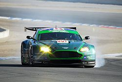 Aston Martin GT2 Aston Martin Vantage GT2is the most powerful racing variant of theAston MartinV8 Vantage family. The Vantage GT2 is based on the V8 engined Aston Martin Vantage road car but is designed to run on both standard race fuel or E85 bio-ethanol.