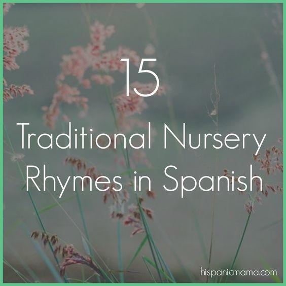 15 Traditional Nursery Rythms