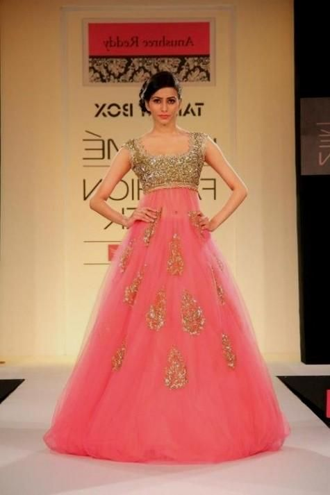 Indian Evening Gowns For Wedding Reception Eveningdresses For