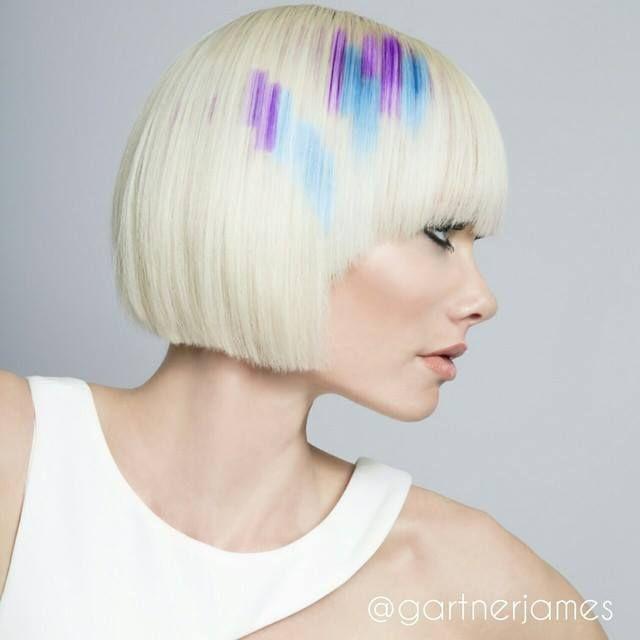 ¡Toques de color!  #Hair: James Gartner Visto en Hair's How