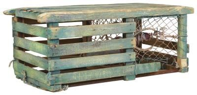 How to Make a Wooden Lobster Trap for a Table