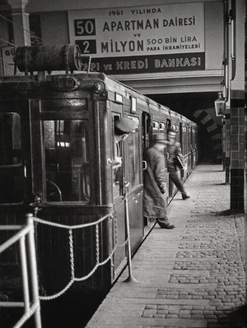Taksim- Tünel By Ara Güler