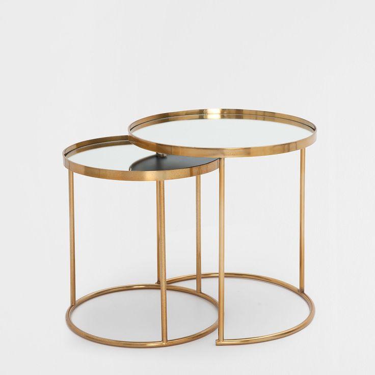 17 meilleures id es propos de mesa lateral redonda sur pinterest salon - Petite table gigogne ...