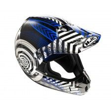 Casque Hjc CLXY Wanted Mc2 #casque #enfant #speedway #blue #moto #cross #motocross