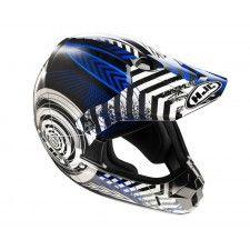 Casque Hjc CLXY Wanted Mc2 #casque #enfant #speedway #blue #moto #cross #motocross
