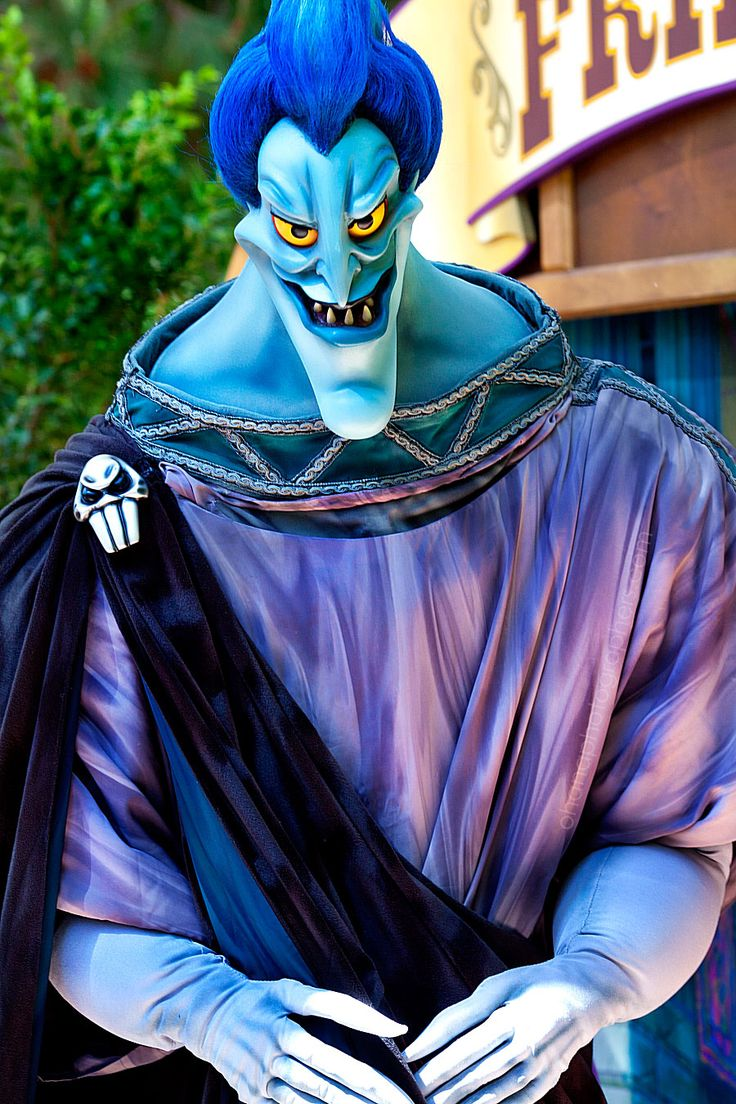 Disneyland Long Lost Friends Week Hades Of Hercules