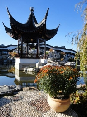The Heart of the Garden #Lake Pavilion