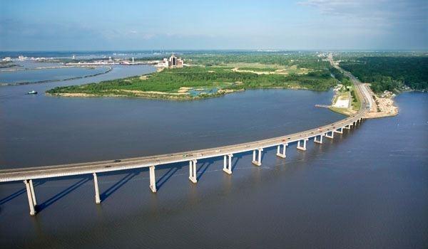 Lake Charles La -210 bridge