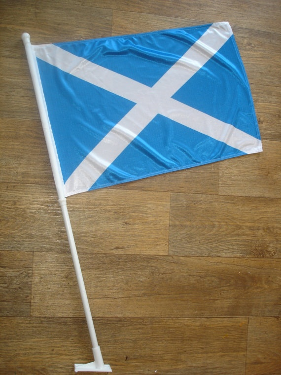 custom made scotland flag by customflag on Etsy, $55.00
