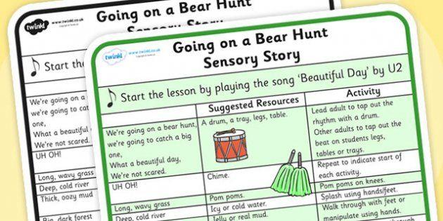 We're Going on a Bear Hunt Sensory Story