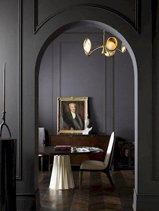 dark walls   baker furniture