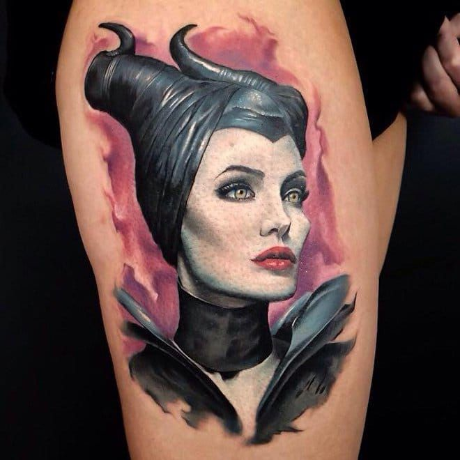 18 Classic Witch Tattoos To Steal Your Breath Away #witch #witchcraft #tattoos