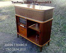 Tandberg Huldra 5 Radiocabinet Model 8