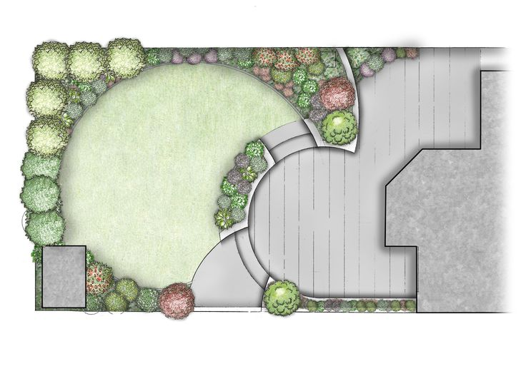 Split-level garden design for family garden Foxrock, Dublin, Ireland.  www.owenchubblandscapers.com