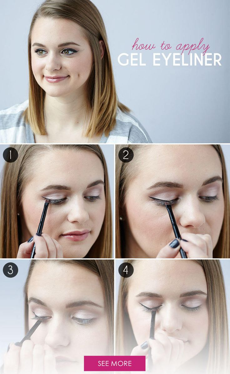 For a line that is lasting, precise and buildable, gel eyeliner is where it's at. Here's how to make that liner glide right on.