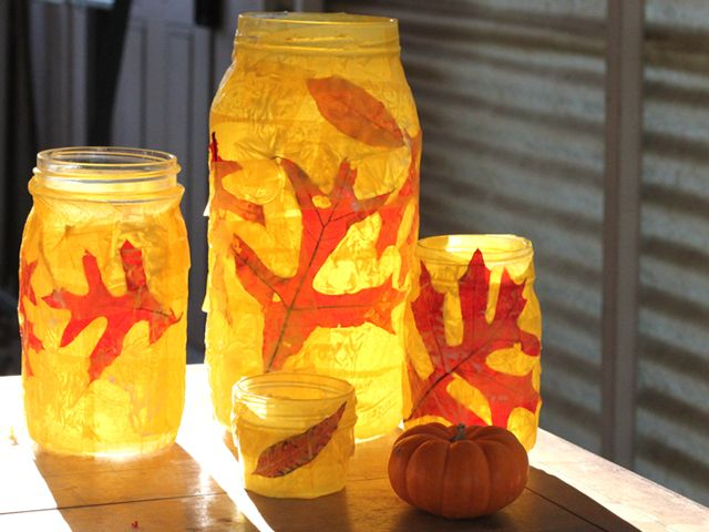 Autumn Votives for Sukkot, Thanksgiving, and the Autumn Season