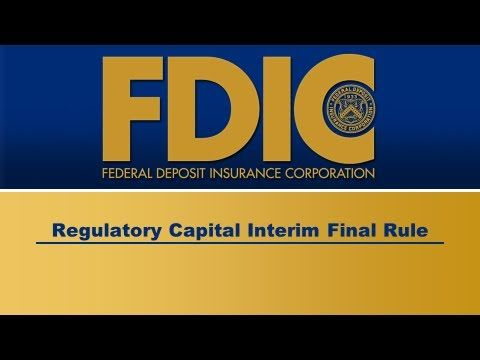 Federal Deposit Insurance Corporation was one of the ways to fix the economy, by insuring deposits up to 250k