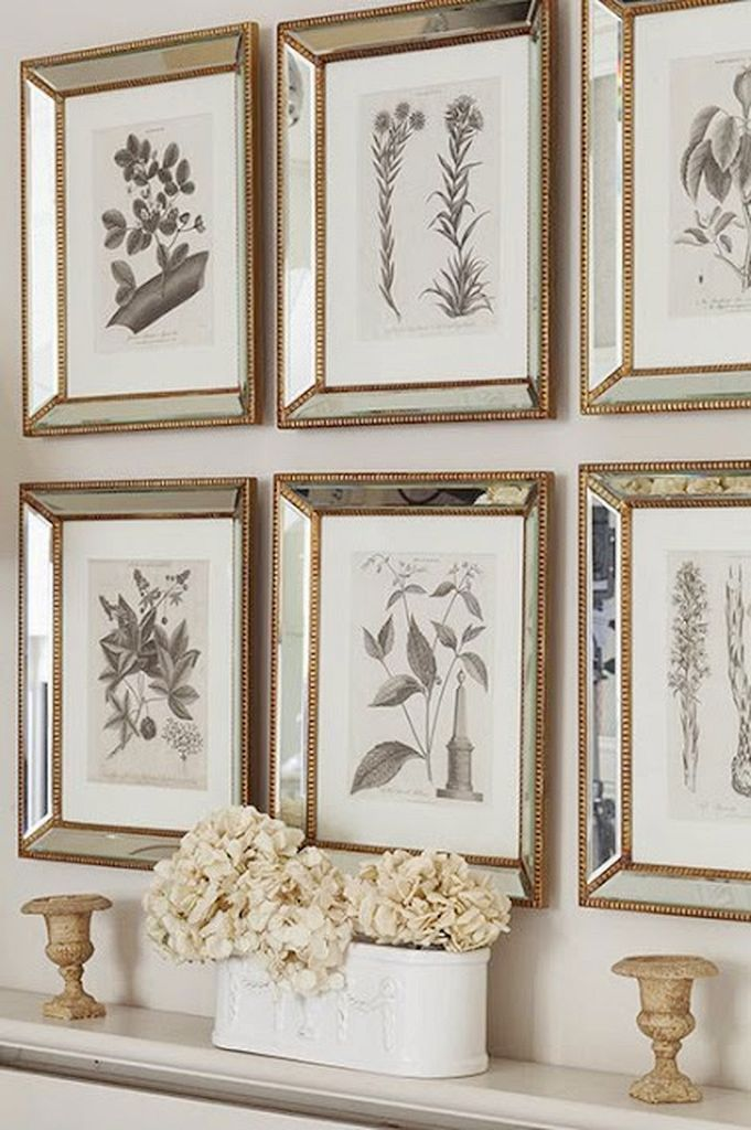 30 French Wall Decor Ideas For Your Old Stylish Home