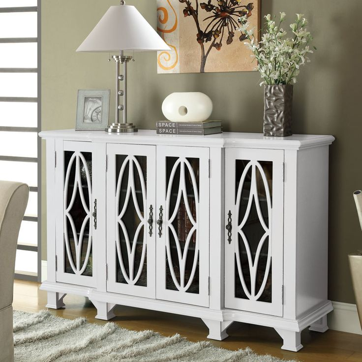 Best Accent Cabinet With White Finish By Coaster Fine Furniture 640 x 480