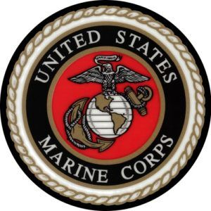United States Marine Corps Jeep Spare Tire Cover