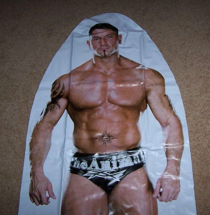 Batista WWE Inflatable Punching Bop Bag Jakks Pacific  Wrestling Kids Toys NIP #JakksPacific