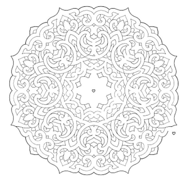 mandala 648 mandala mazes coloring book dover publications