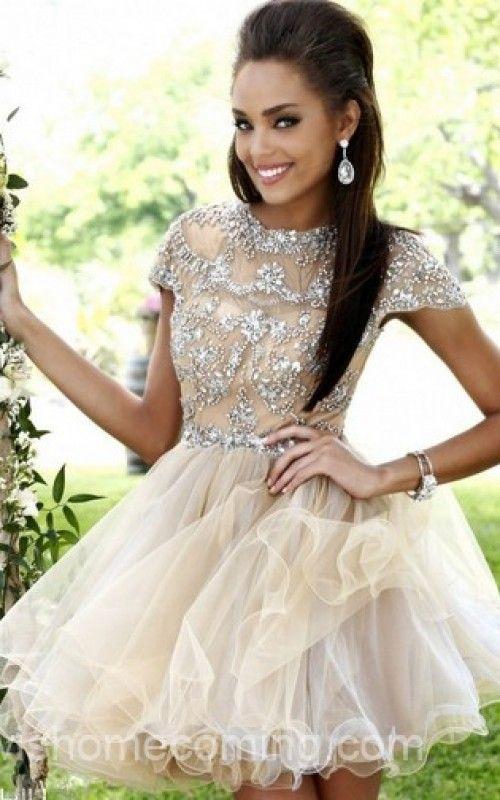 Backless Beads Sherri Hill Homecoming Dress 21304