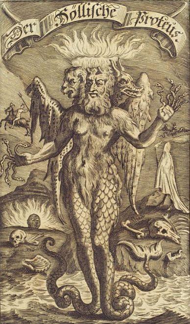 Proteus 17th Century Cornelius Nicolas Schurtz, 1690. Engraving