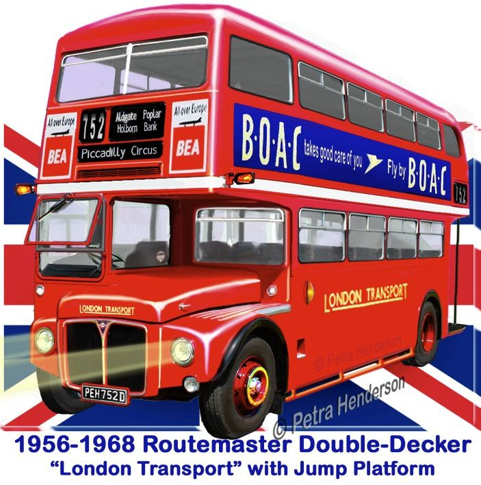 Alle Größen | A rather crude rendering of a Routemaster, looking like its crossbred with an MCW Orion. | Flickr - Fotosharing!