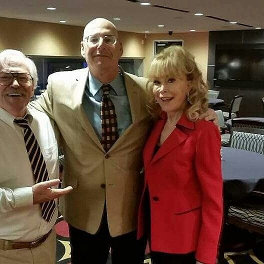 With Barbara Eden and Bill Harris