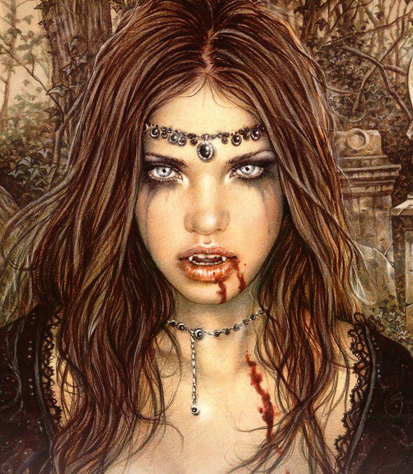 beautiful young female vampires. | women from love to vampires 01 in Young Women Suffering From Love to ...
