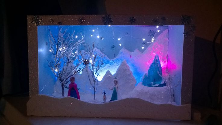 1000 images about diorama ideas on pinterest snowflakes for How to make ice in a fish tank