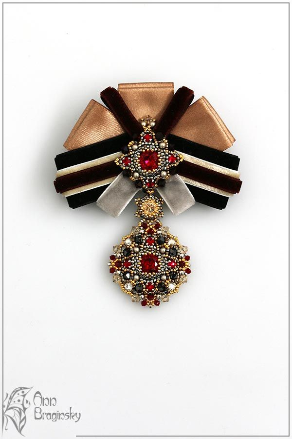 Орден имени... меня. Анна Брагинская — украшения из бисера
