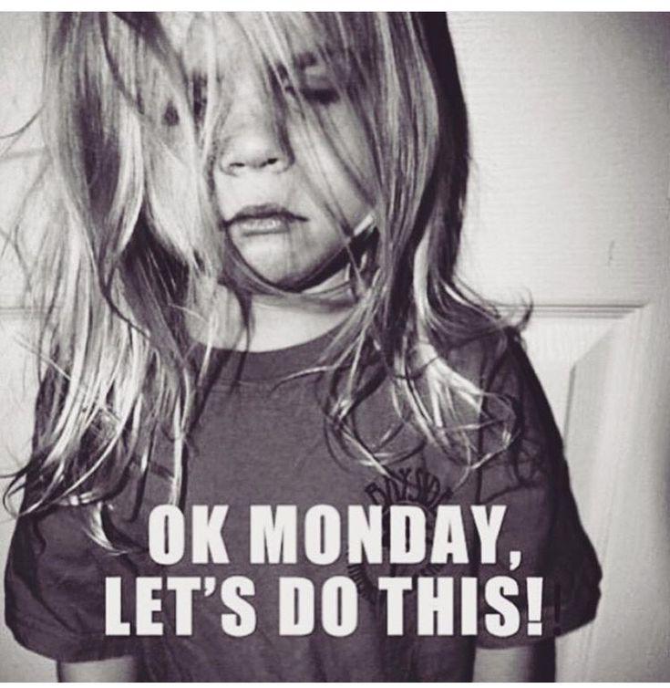 So Nat on Monday morning lol!