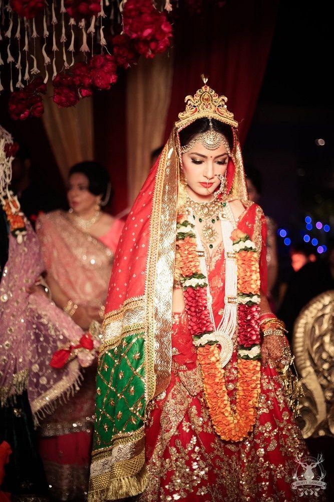Arushi  & Dhruv Wedding Photo - via WedMeGood