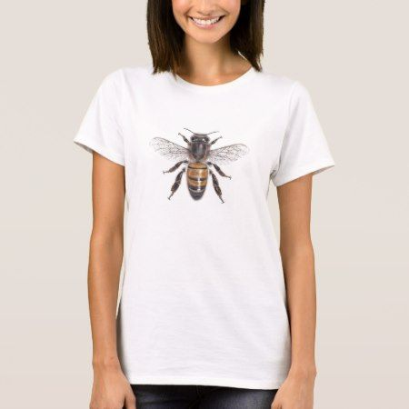 Apis mellifera - Honey Bee T-Shirt - click/tap to personalize and buy
