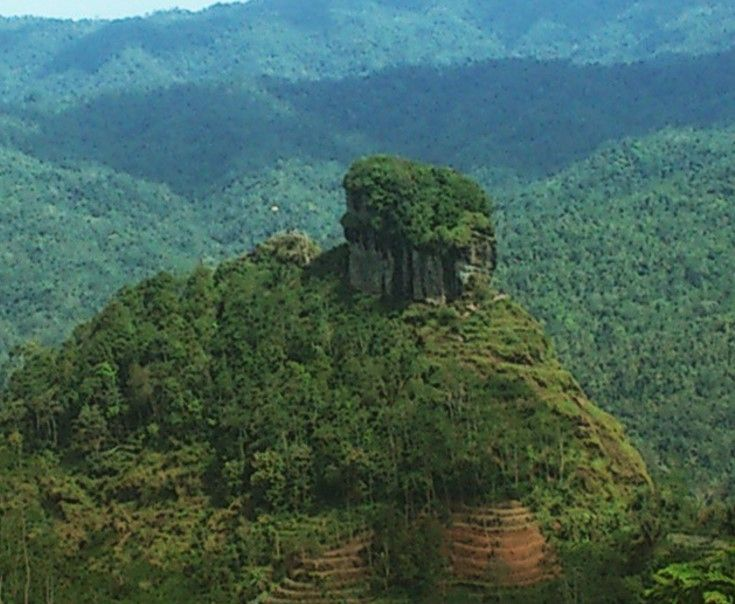 Foto bukit desa wisata nglinggo