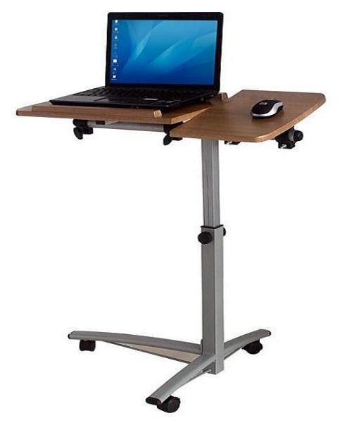 Ángulo ergonómico Ajustable Overbed multifuncional portátil de escritorio Computadora de Escritorio, notebook tabla