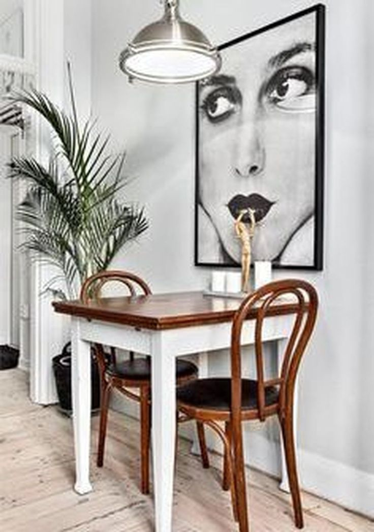 46 Comfy Dining Room Ideas For Small Space
