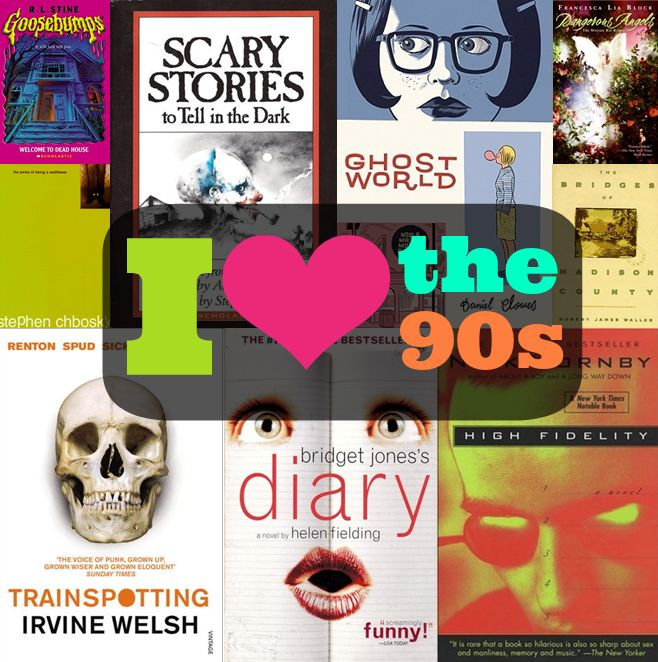 90s books | Library-ish | Pinterest