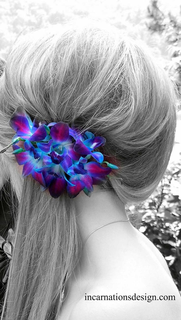 Floral #hair piece by #InCarnations    www.incarnationsdesign.com