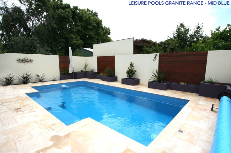 The Reflection in Mid Blue by Leisure Pools - Check out our Granite Colour Range via our website, www.leisurepools.com.au