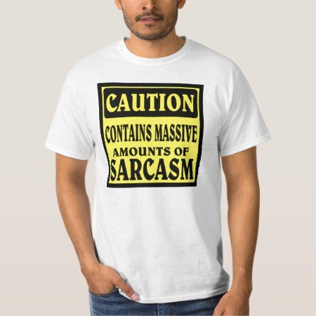 SARCASM T-Shirt - tap, personalize, buy right now!