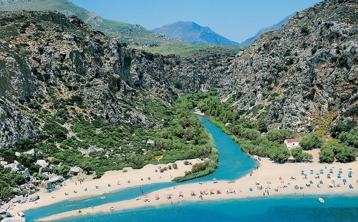 Preveli Beach - Crete, Greece