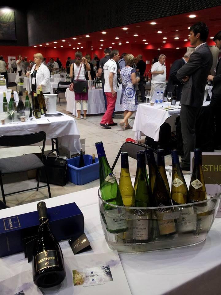 Salon professionnel Millésimes Alsace 2014 - photo Bestheim et Châteaux - millesimes-alsace.com #DrinkAlsace