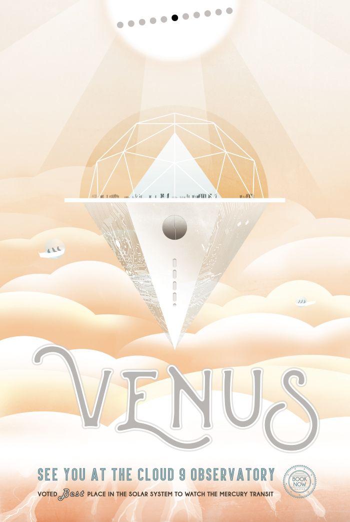 金星のクラウド9展望台で会おう