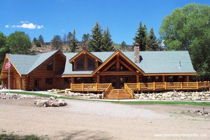 Log Homes - Exteriors This one!!!!