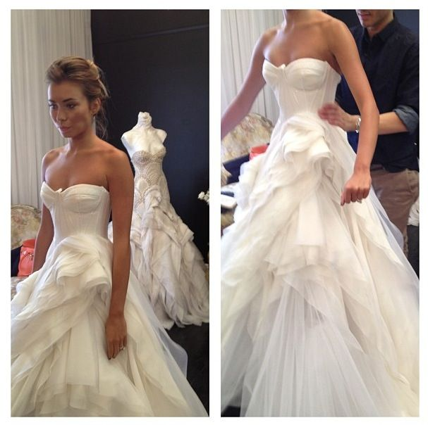 64 best J\'Aton Couture images on Pinterest | Wedding frocks, Bridal ...